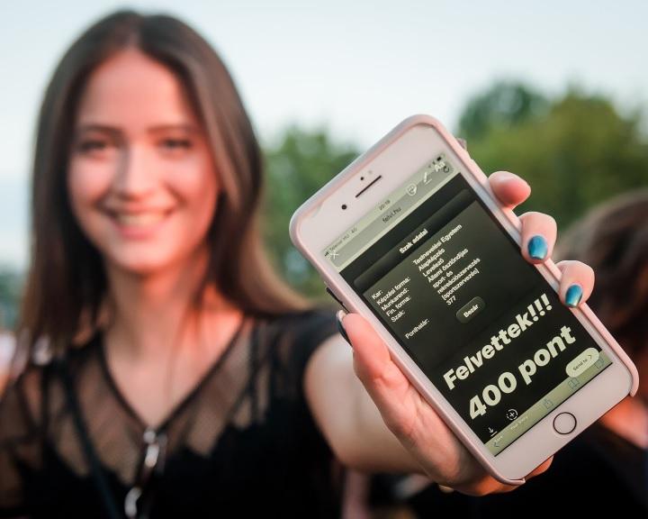 Felvételi - Mintegy ötezer új hallgató kezdheti el a tanévet a PTE-n
