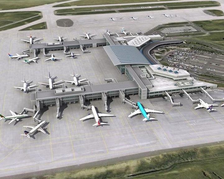 Átadták a ferihegyi repülőtér új utasmólójának második részét