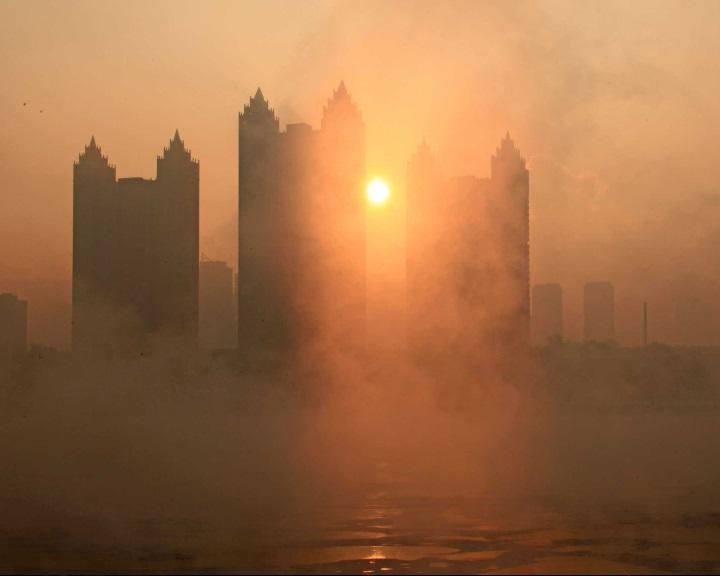 Melegedést idéztek elő az északi féltekén Kína légszennyezés elleni erőfeszítései