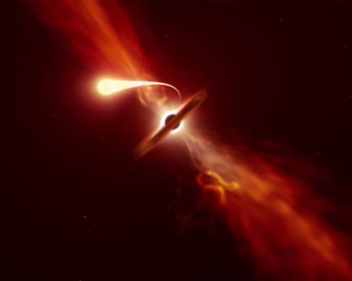 Egy csillag spagettifikációját sikerült rögzíteniük csillagászoknak