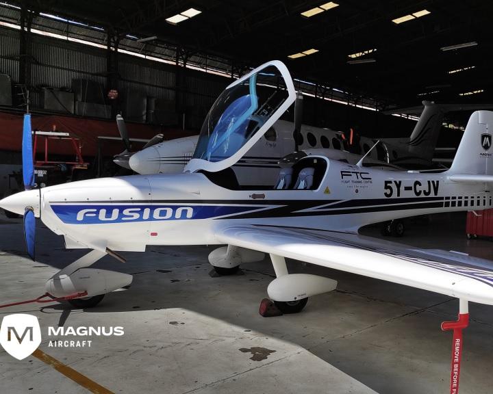 Fontos engedélyeket szerzett meg a Magnus Aircraft Zrt. a Fusion 212 típusú repülőgépéhez