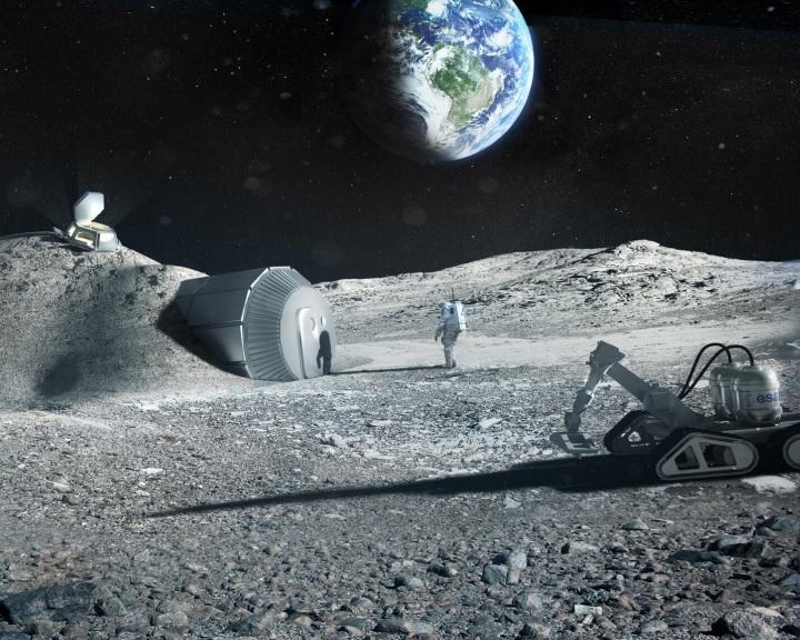 Oxigént lehet előállítani a Holdat borító poros kőzetből