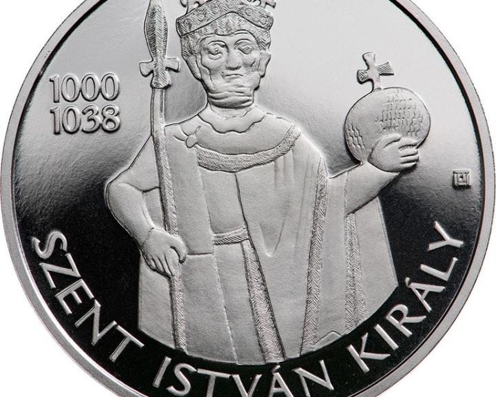Szent István király tiszteletére emlékérmét bocsát ki az MNB