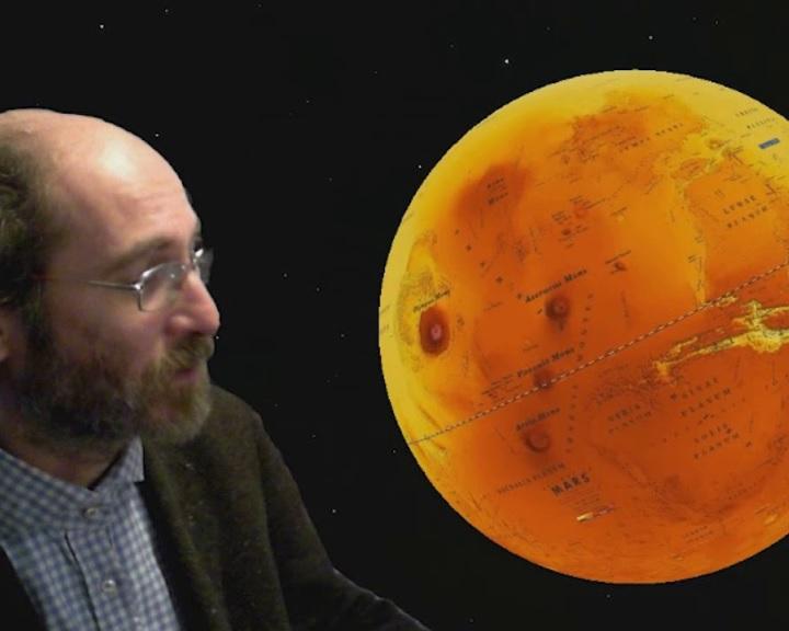 Magyar térkép készült a Marsról