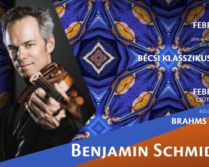 Bécsi klasszikus és jazz, valamint Brahms duplán – Benjamin Schmiddel