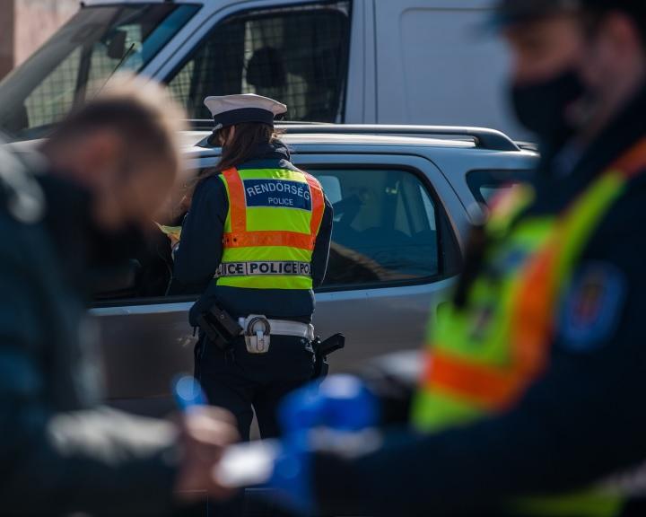 ORFK: megkezdődött a fokozott ellenőrzés az utakon