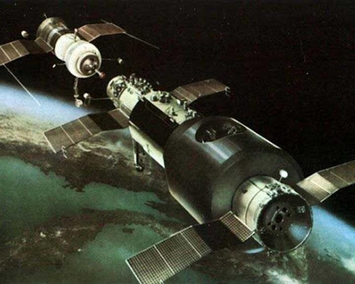 A világ első űrállomását 50 éve lőtték fel