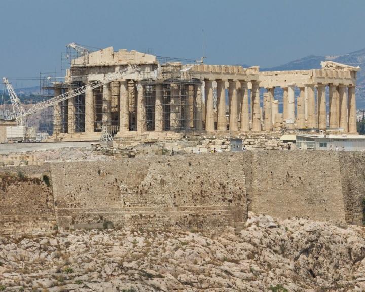 A régészek féltik az Akropoliszt a drámai strukturális változtatásoktól