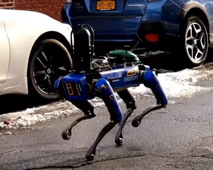 Nem használ többé robotkutyát a New York-i rendőrség
