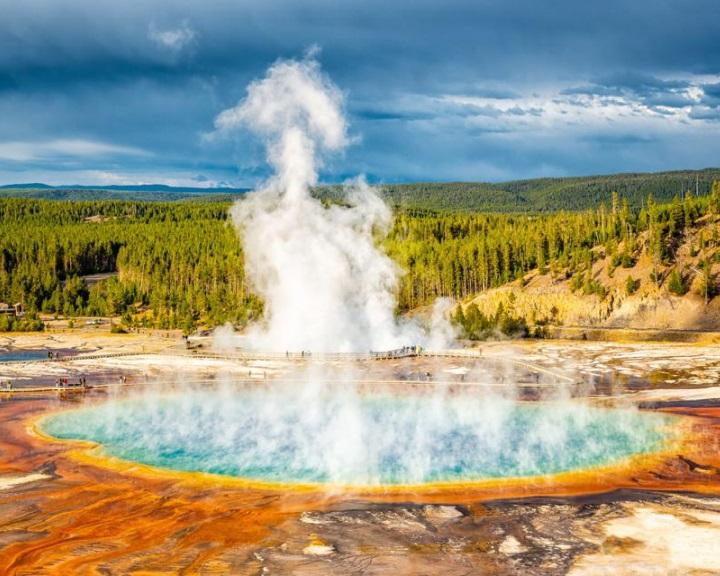Az elmúlt 20 év nyarai voltak a legforróbbak a Yellowstone Nemzeti Park területén