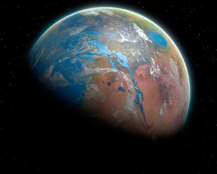 Vízjégfelhők miatt melegedhetett fel az ősi Mars