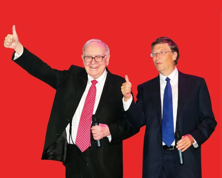 Atomban utazik Warren Buffett és Bill Gates