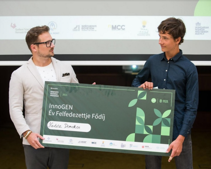 Év felfedezettje díj - Robot tengeralattjáró fejlesztéséért ítélték oda az első díjat