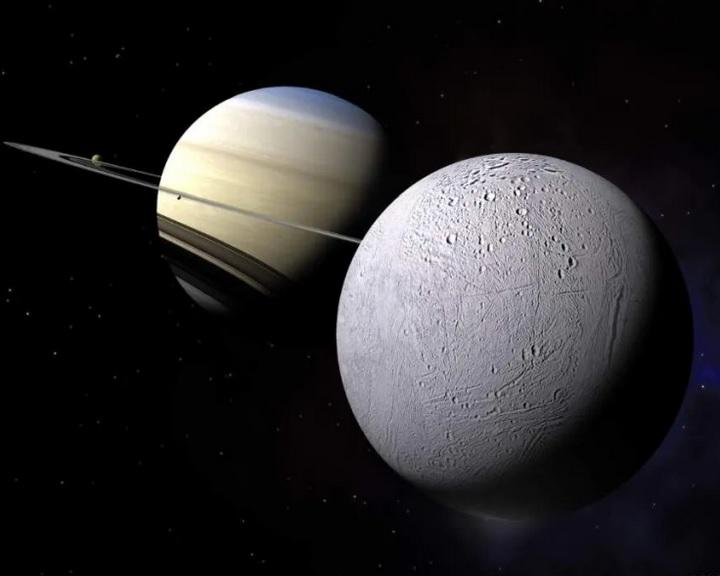 Lehetséges élet jelei a Szaturnusz Enceladus holdján