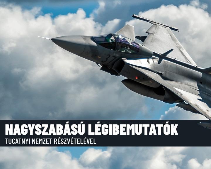 Kecskeméti repülőnap - Számos légi és szárazföldi bemutató szerepel a programok között