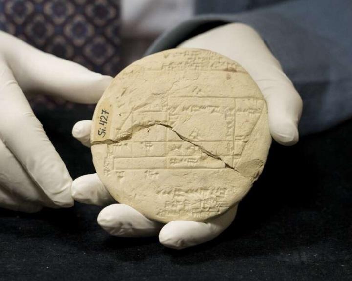 Alkalmazott geometriai számításokat fedeztek fel egy 3700 éves agyagtáblába vésve