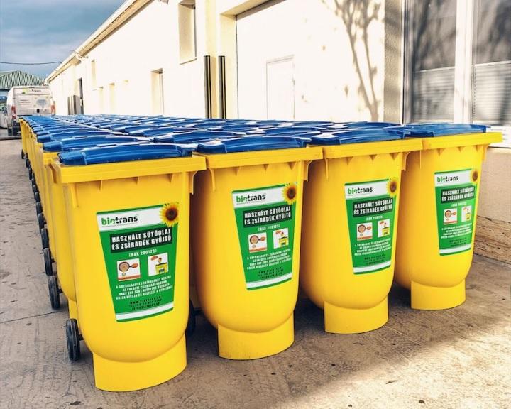 A használt sütőolaj begyűjtését segíti a víziközmű szövetség