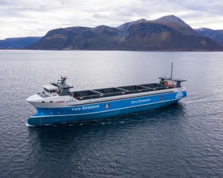 A világ első autonóm elektromos teherhajója idén útjára indul