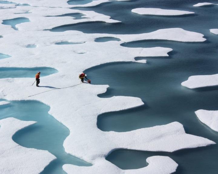 Elérte idei legkisebb kiterjedését az északi-sarkvidéki jég