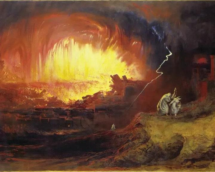 Kozmikus eredetű robbanás emlékéből születhetett Szodoma bibliai története