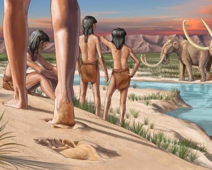 Az amerikai kontinens legrégebbi ismert emberi lábnyomait fedezhették fel Új-Mexikóban