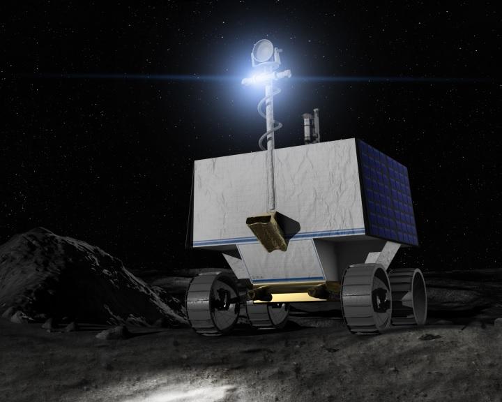 A Hold déli sarkára indul a VIPER holdjáró