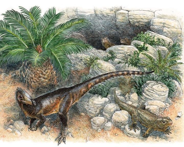 Új dinoszauruszfajt azonosítottak egy walesi leletegyüttesben