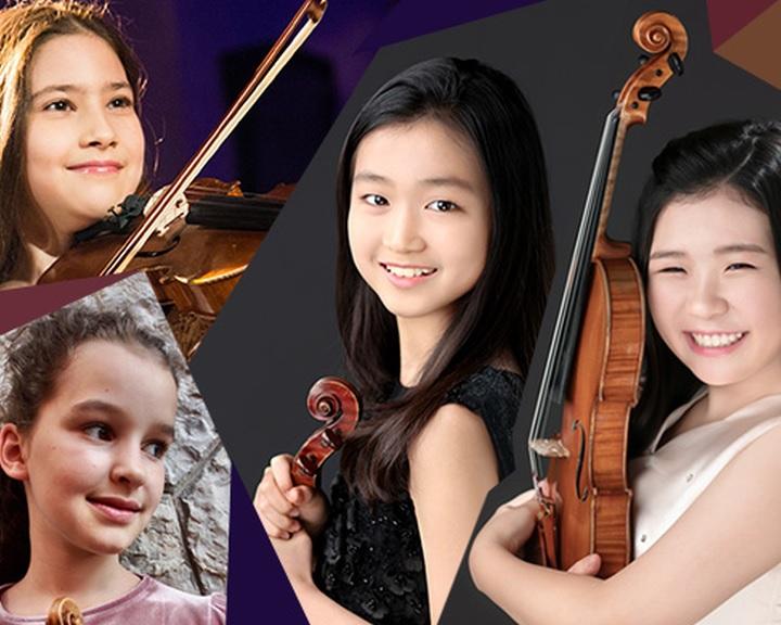 Csodagyerek hegedűművészek a Pannon Filharmonikusokkal