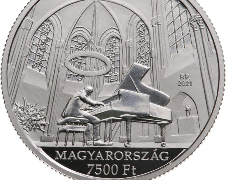 Cziffra-emlékév - Emlékérmét bocsát ki a Magyar Nemzeti Bank