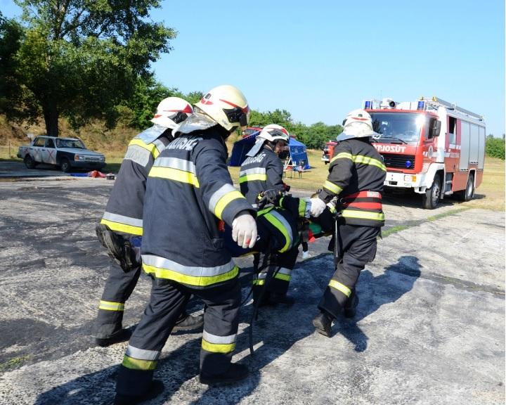 Pécsi tűzoltók a legjobbak egyéni beosztott kategóriában