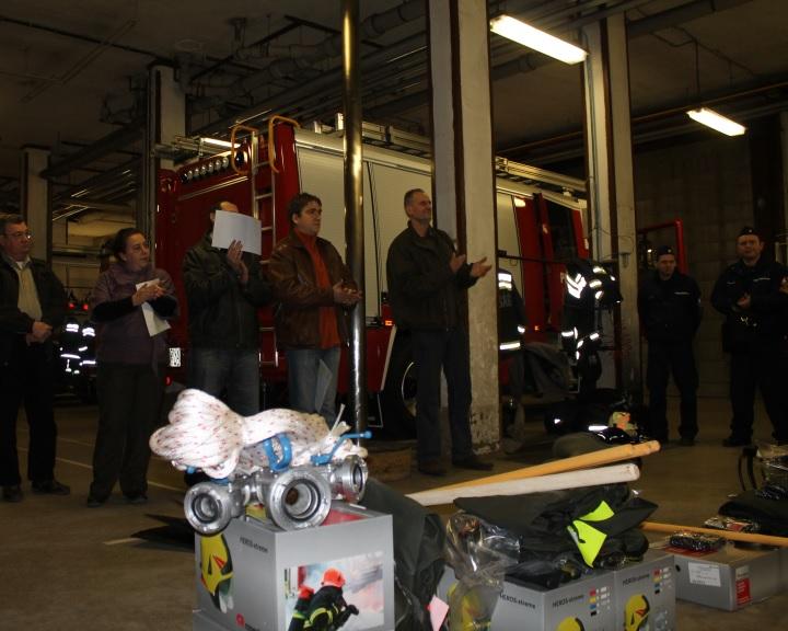 Felszereléseket és járműveket kaptak a megyei önkéntes egyesületek