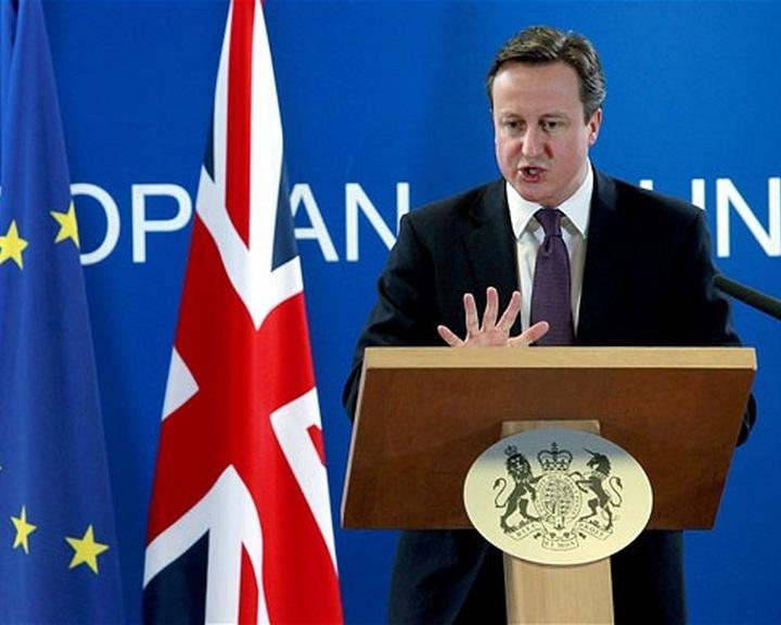 Kormányprogrammá vált a brit EU-tagságról szóló referendum