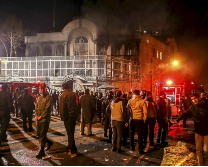 Irán: szándékos provokáció lehetett a szaúdi követség megtámadása