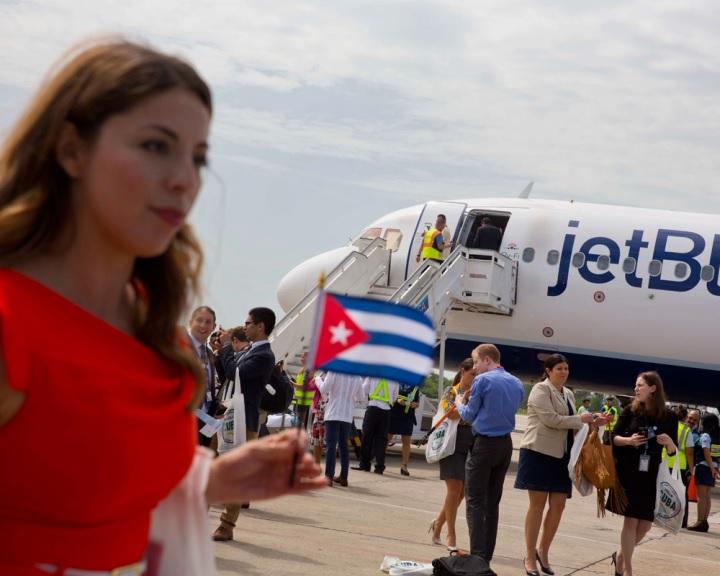 Kubába 50 év után először érkezett amerikai utasszállító repülőgép