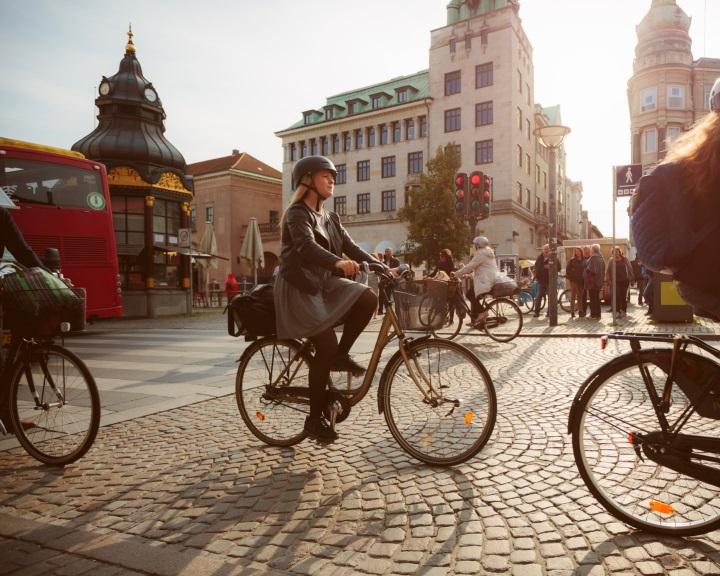 Több kerékpár rója Koppenhága utcáit, mint autó
