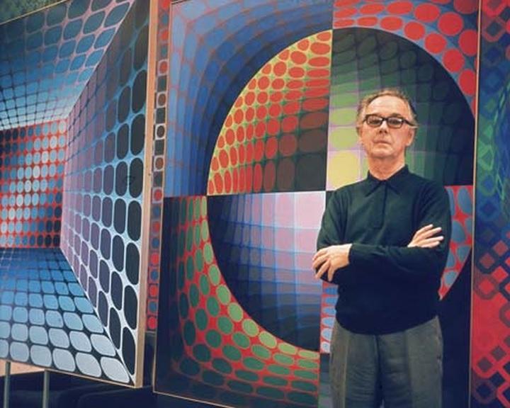 Kiállítás nyílik Vasarely születésének évfordulója alkalmából Brüsszelben