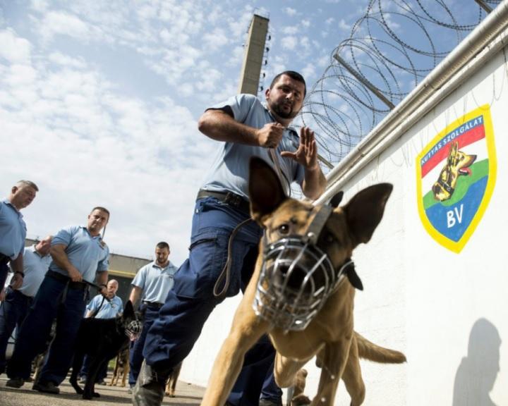 Ötvenen már dolgoznak a komlói büntetés-végrehajtási intézetben