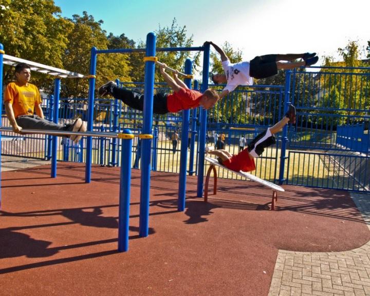 Új sportpark épül Komlón