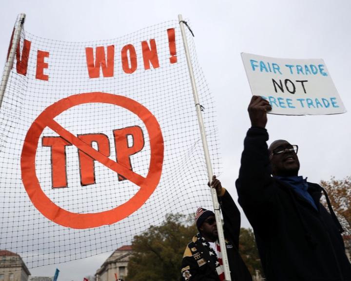 Az amerikai kormány kivonul a csendes-óceáni szabadkereskedelmi megállapodásból