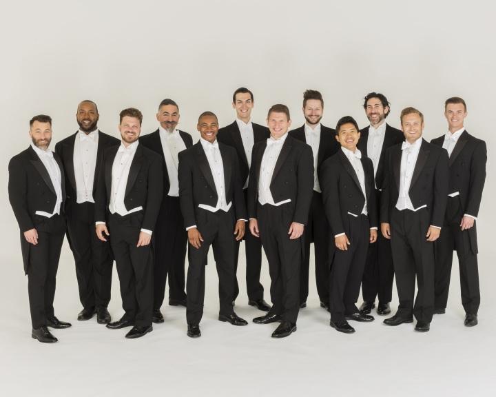 A Grammy-díjas Chanticleer énekegyüttes ad koncertet a pécsi Kodály Központban