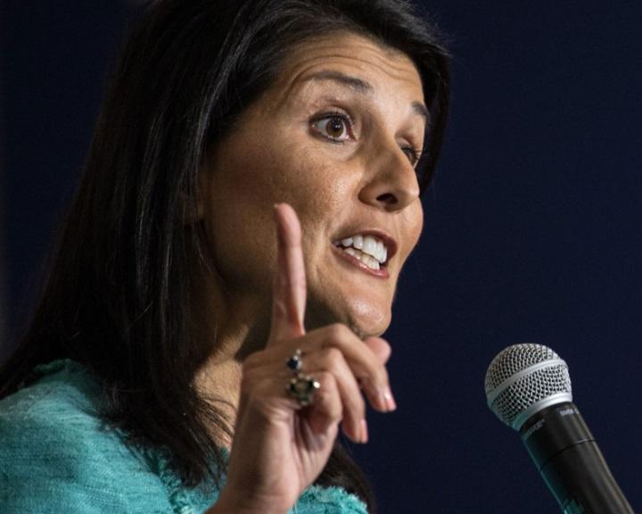 """Haley: """"megjegyezzük a nevét"""" annak, aki nem támogatja Washingtont"""