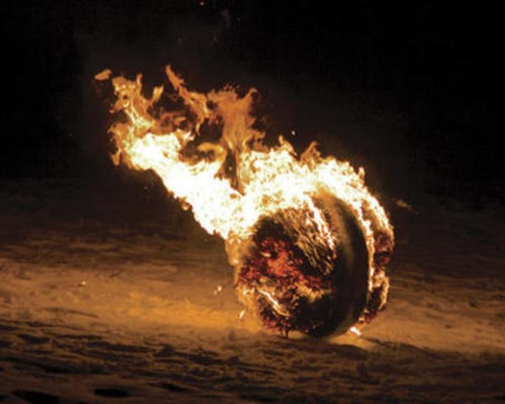 Tüzeskerék gurítás túra
