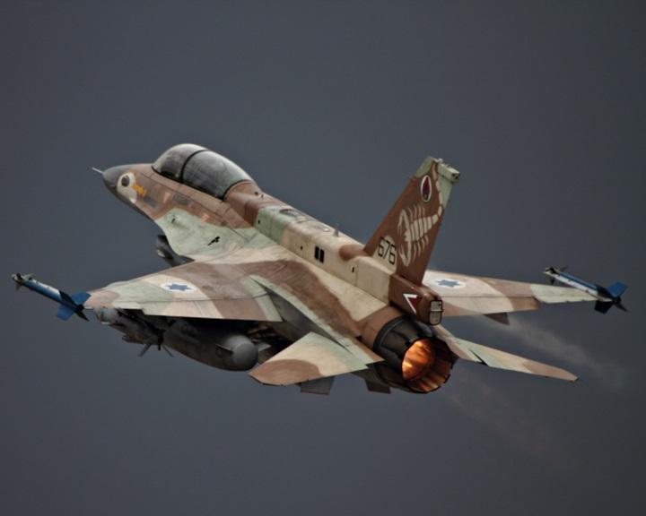 Szíriában rakétákat lőttek ki légicsapást mérő izraeli repülőgépekre