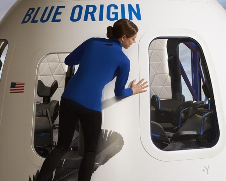 Bemutatta kapszuláját a Blue Origin