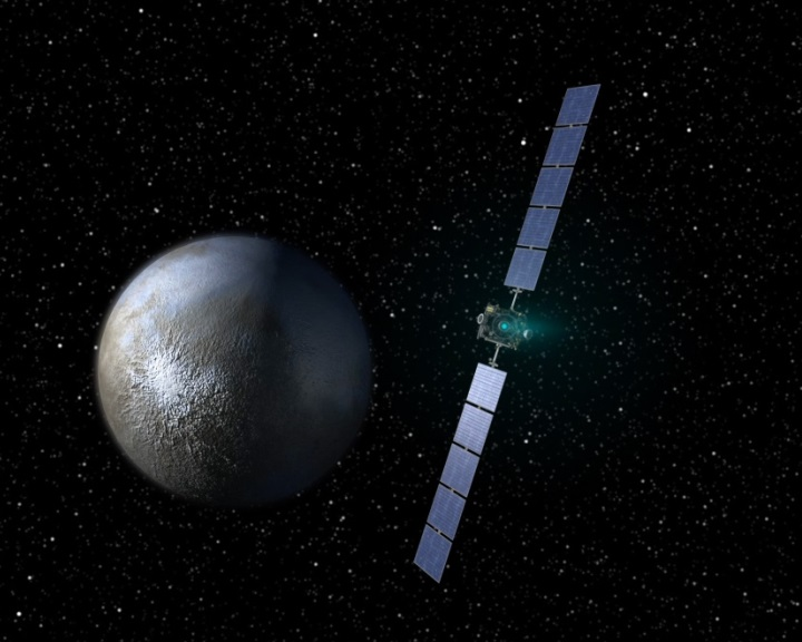 Jég jelenlétére utalnak a Ceres törpebolygón észlelt nagy földcsuszamlások