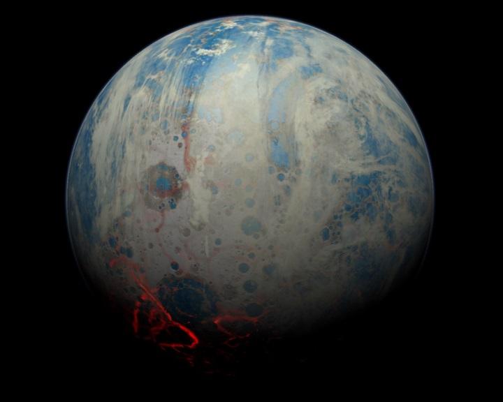 Sivár, lapos és szinte teljesen víz alatt volt a Föld 4,4 milliárd éve