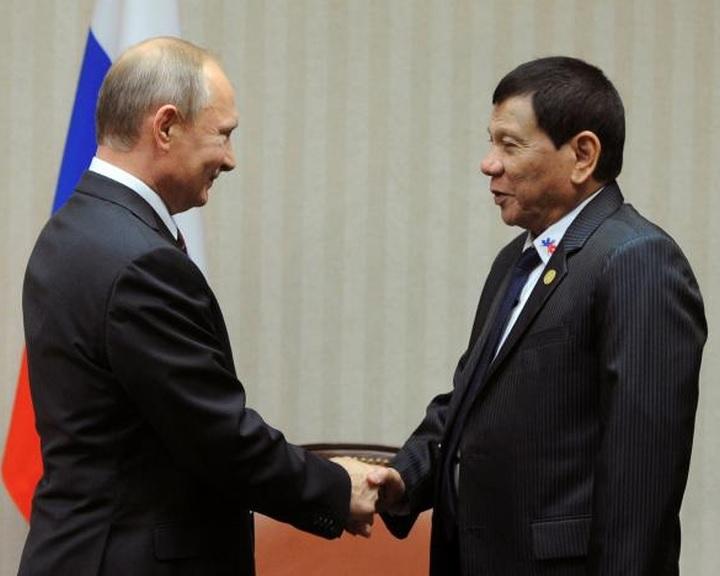 Duterte orosz fegyverekre számít a terrorizmus elleni harcban