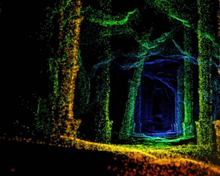 A LIDAR technológia biztosíthatná a határokat