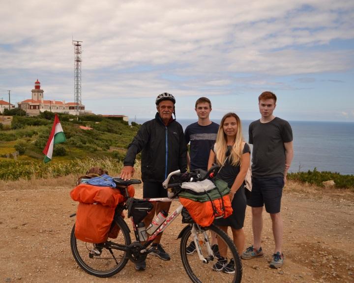 Elérte kitűzött célját a komlói kerékpáros