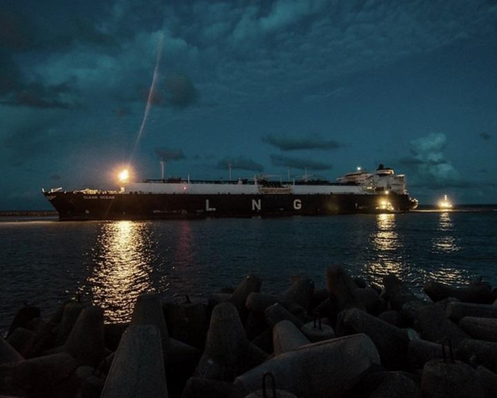 Megérkezett az első amerikai LNG-szállítmány Litvániába